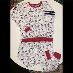 Hanna Andersson Disney Mickey Mouse Camp Pajamas